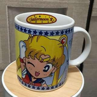 92年 Sailormoon R Q版 美少女戰士 咖啡杯 Coffee Mug Cup