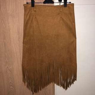 Brown skirt