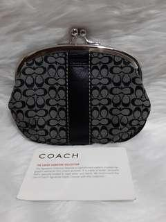 Repriced!Authentic Coach coin purse