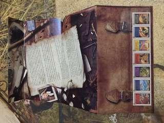 已絕版!Harry Potter Royal Mail Mint Stamps 哈利波特郵票 *未蓋銷*