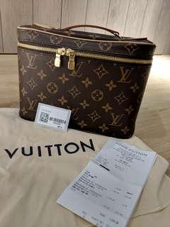 Louis Vuitton nice bb with full SG set receipt