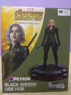 Petron Die Cast Metal Marvel Black Widow #SnapEndGame