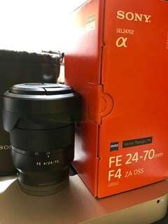 Sony Zeiss 24-70Z4
