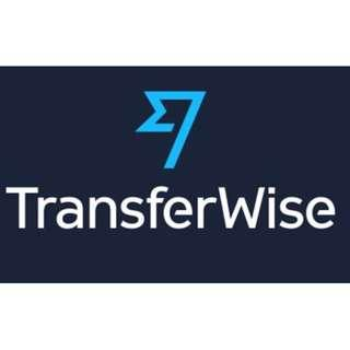 Free transfer for transferwise