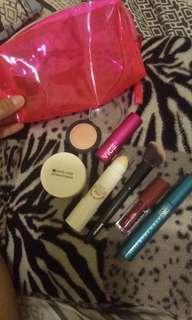 make up set with pouch