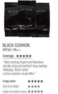 Hera Black Cushion Refill