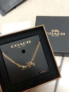 🚚 Coach馬車logo項鍊 手鍊