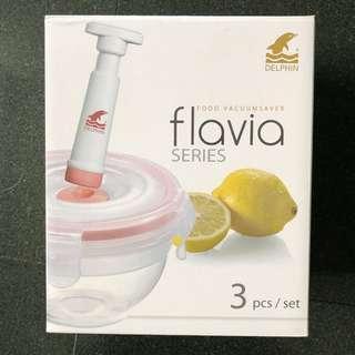Delphin Flavia 3-piece Food Vacuum Saver