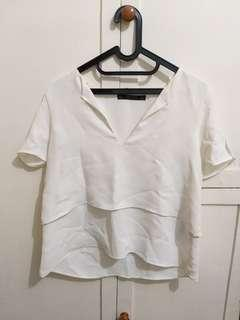 White Blouse zara