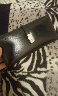 miniso leather wallet