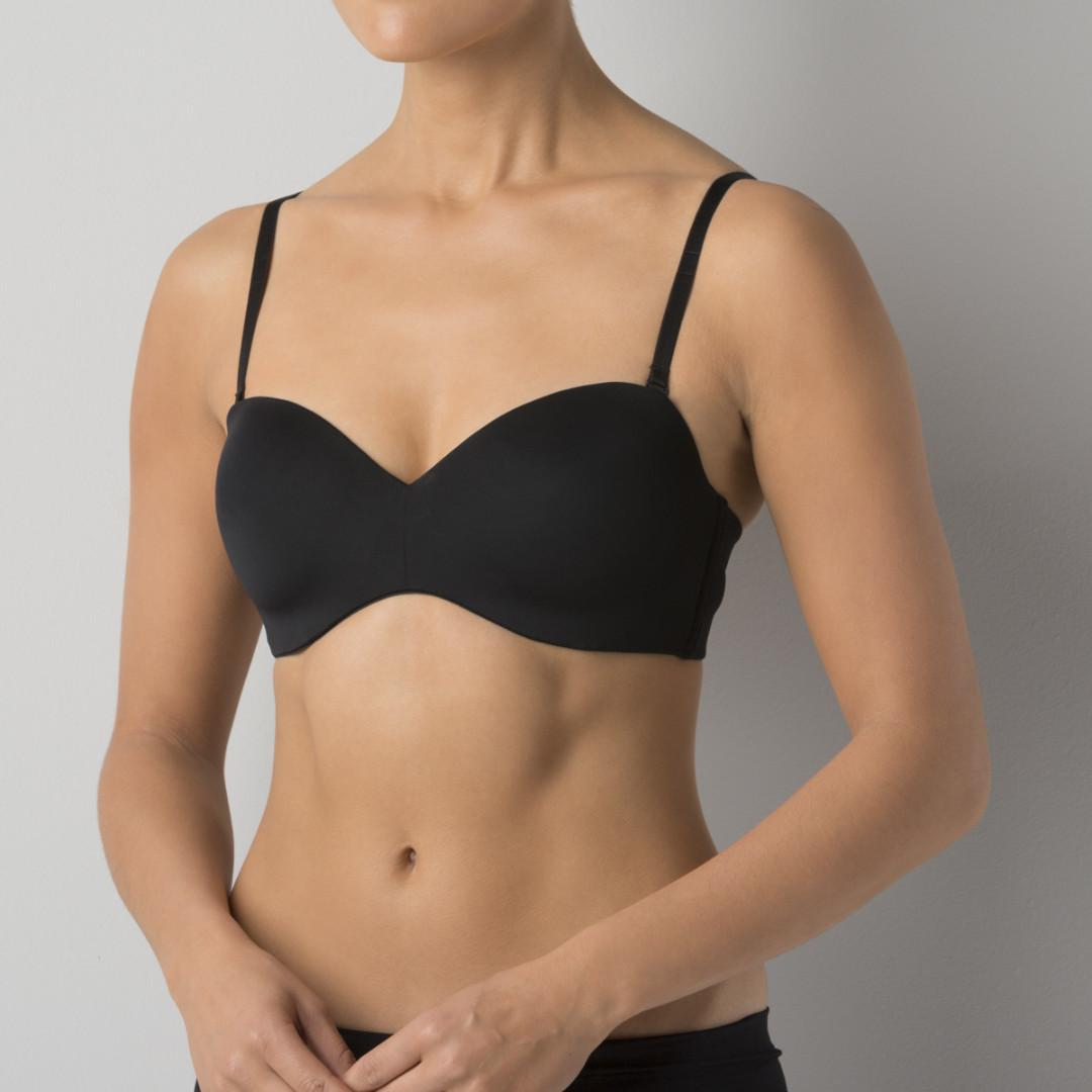 2x black 12b underwire bras convertible to strapless push up