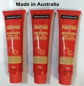 $30 6X Papaw macadamia nut oil Ointment 25g (free mail)