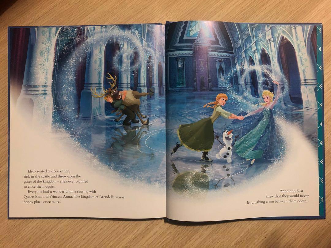 全新 Disney Movie Collection Frozen 魔雪奇緣 迪士尼電影 英文故事書