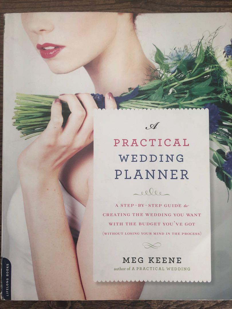 A Practical Wedding Planner By Meg Keene Books Stationery