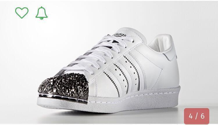 Adidas Superstar 80s Metal Toe White