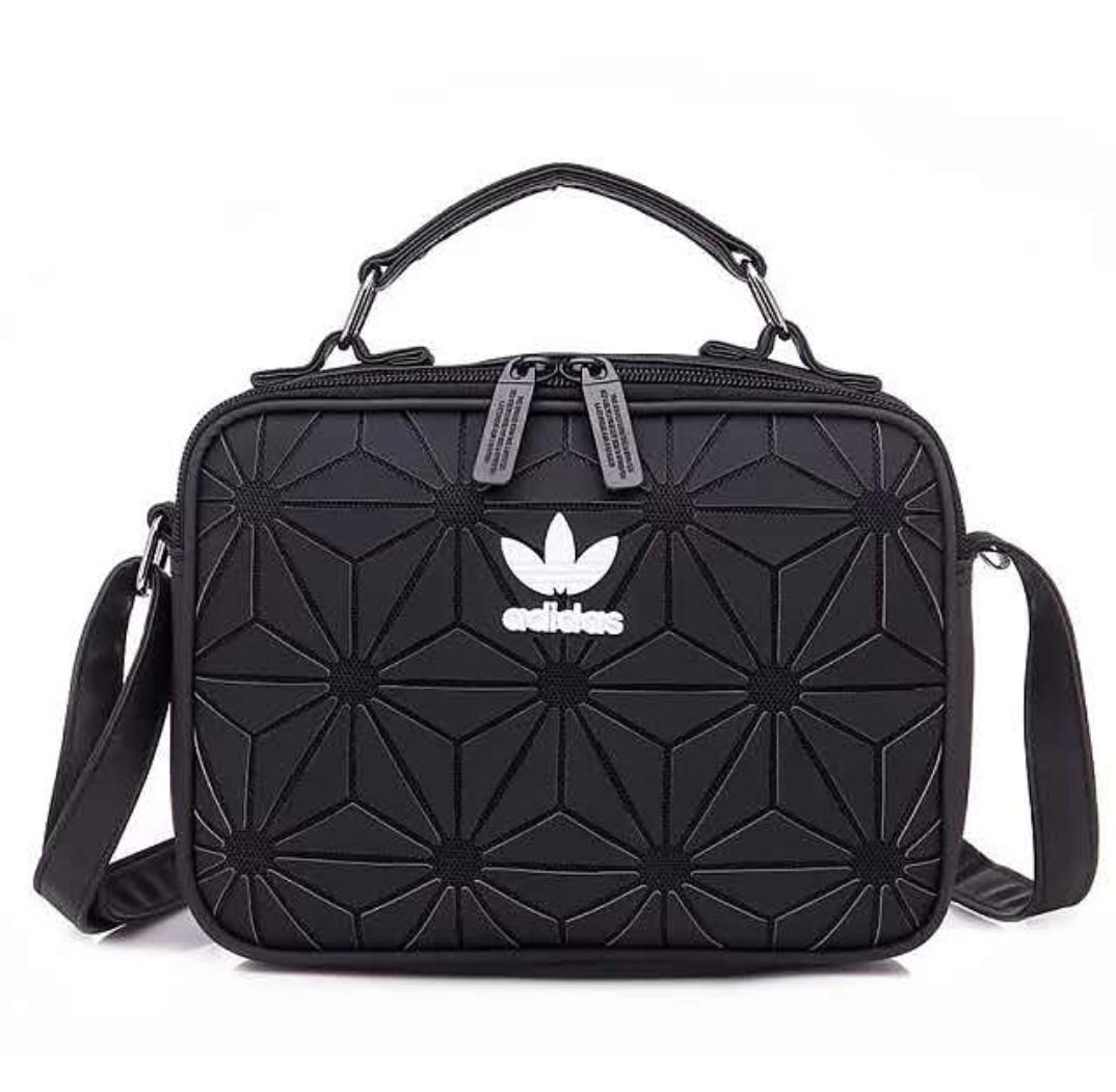 b01c5f14ea8f Adidas Women's Bag Shoulder Bag 3D Diamond Geometric Pattern ...