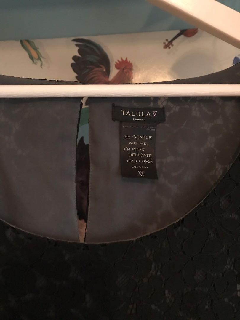 Black Talula Dress