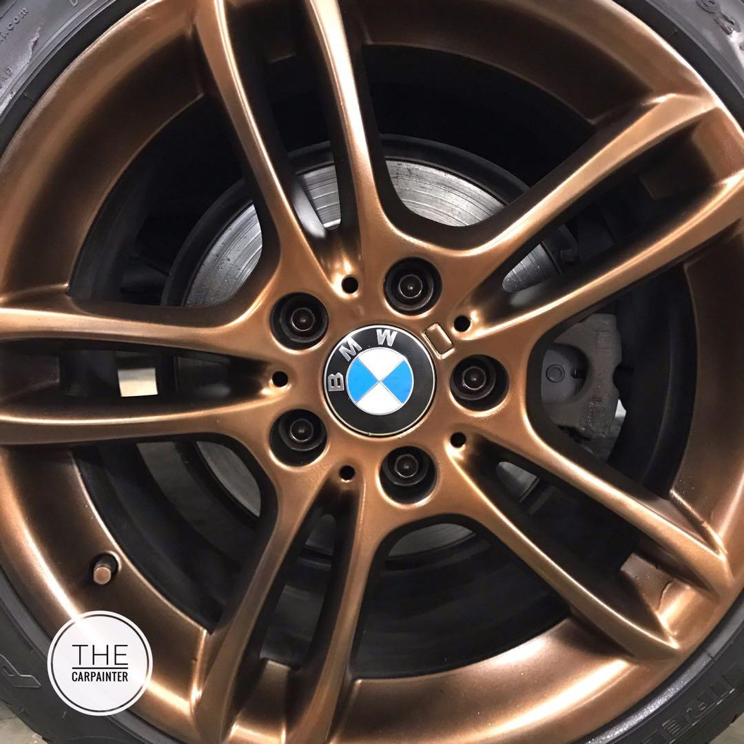 BMW Rims Plastidip Spray Service Plasti Dip, Car Accessories
