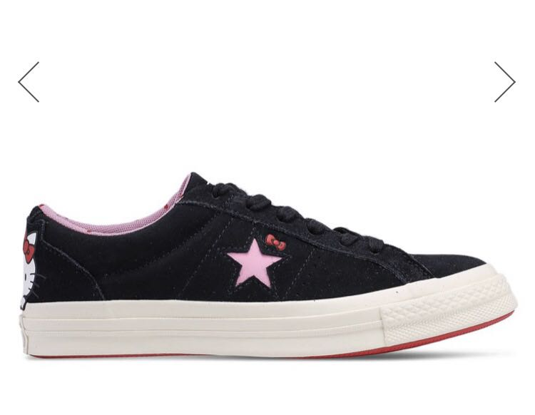 b082089b0f0919 Brand New  Converse x Hello Kitty One Star Sneakers Size US 7 ...