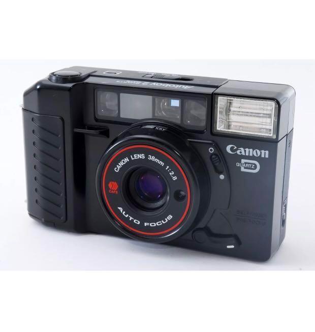 Canon Autoboy 2 /AF35M II w/ QUARTZ DATE