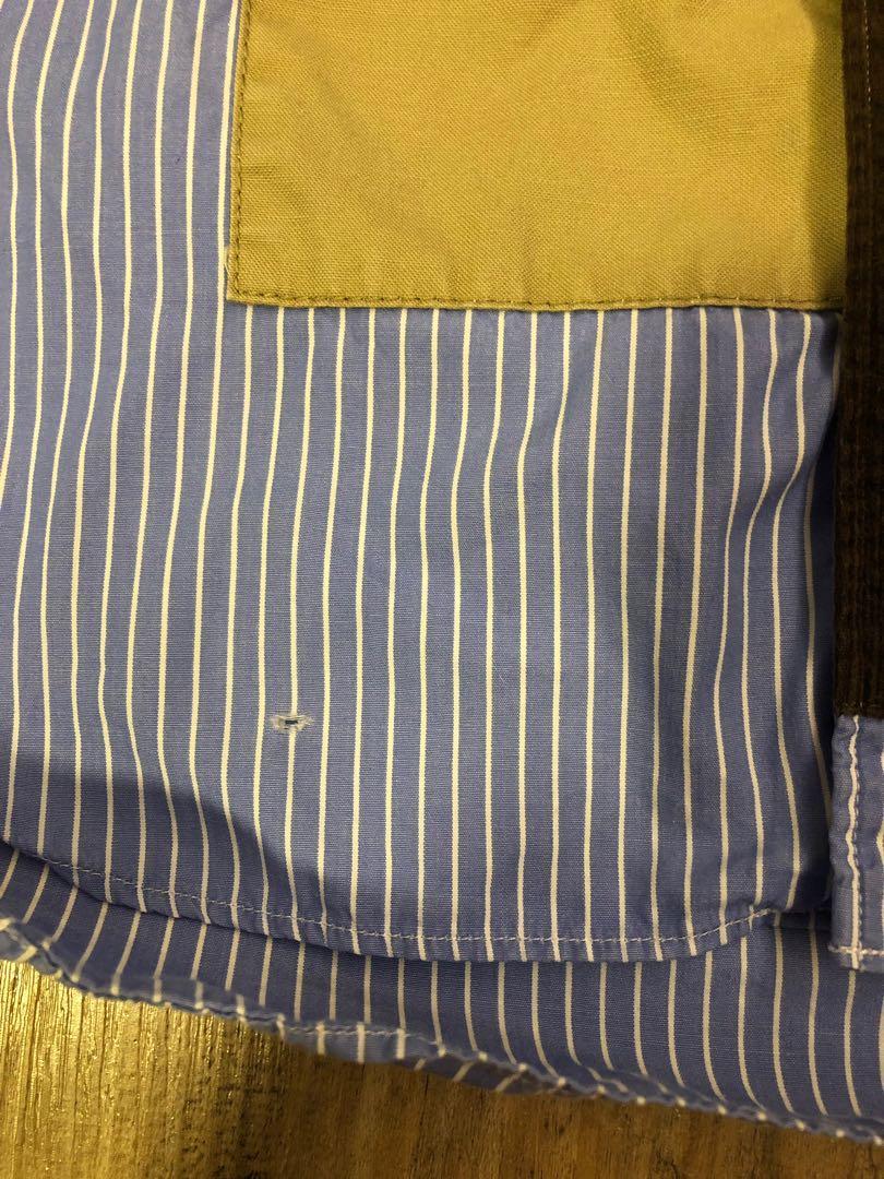 Comme des garçon home patchwork shirt , Size S