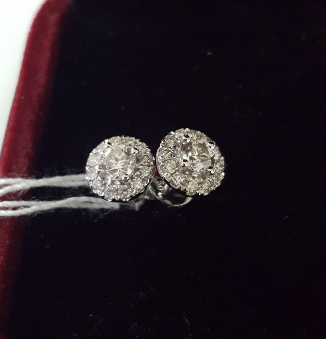 0003ac2c9682f Diamond Earring (Authentic)