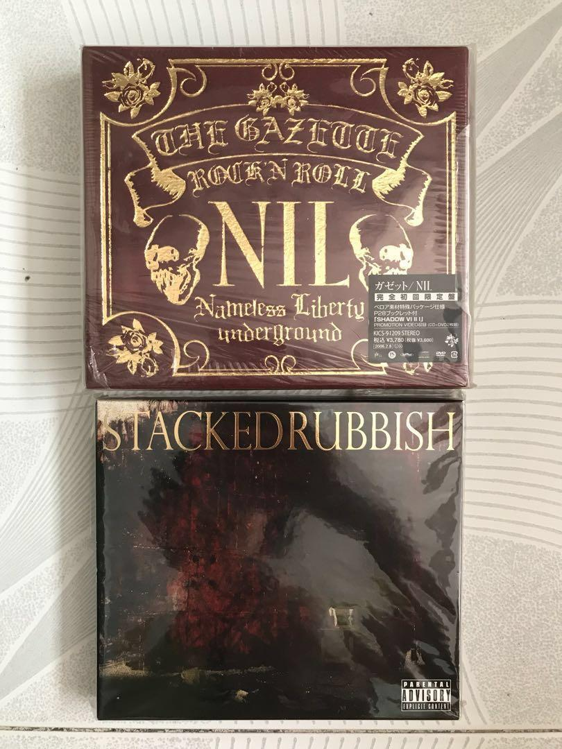 Gazette CD 大碟 NIL Stacked Rubbish