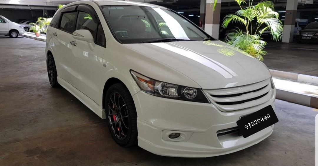 HONDA STREAM MPV $50/DAY GRAB CAR RENTAL PARTNER ENJOY CAR REBATE CALL 93230440