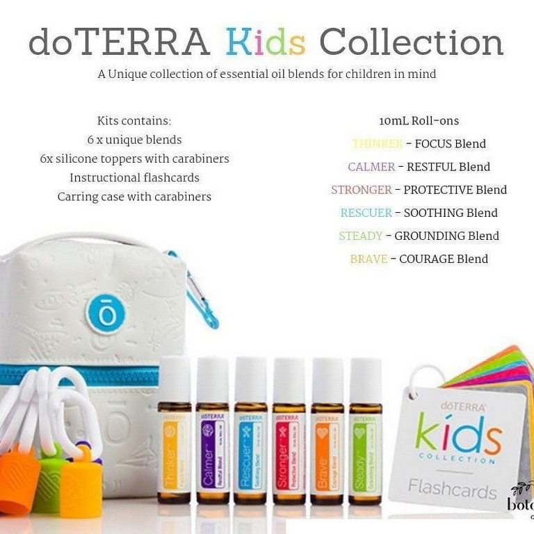 Kid S Oil Collection Doterra Kid S Collection Health Beauty