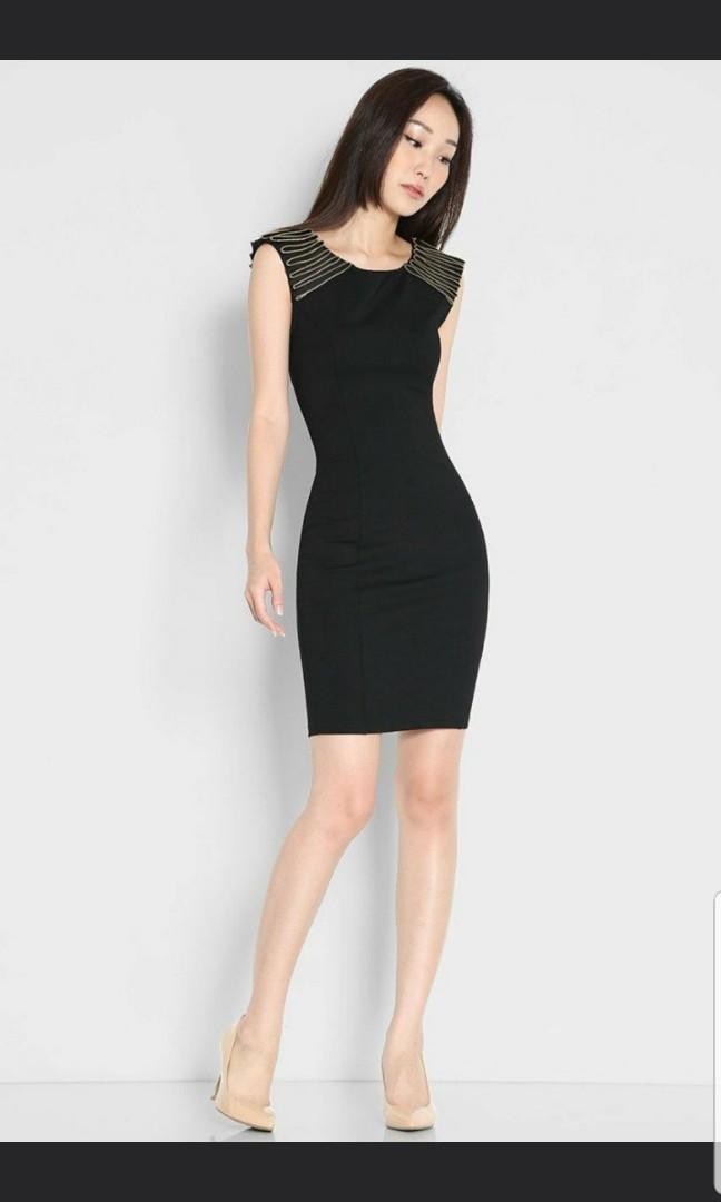 12c54b089a98 Lara J black dress, Women's Fashion, Clothes, Dresses & Skirts on ...
