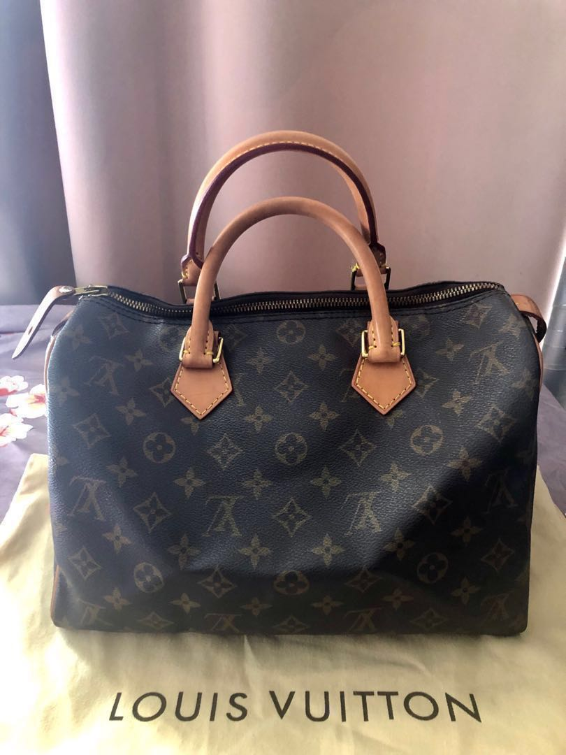clearance prices laest technology quite nice LAST PRICE Authentic LV Louis Vuitton Monogram Speedy 30