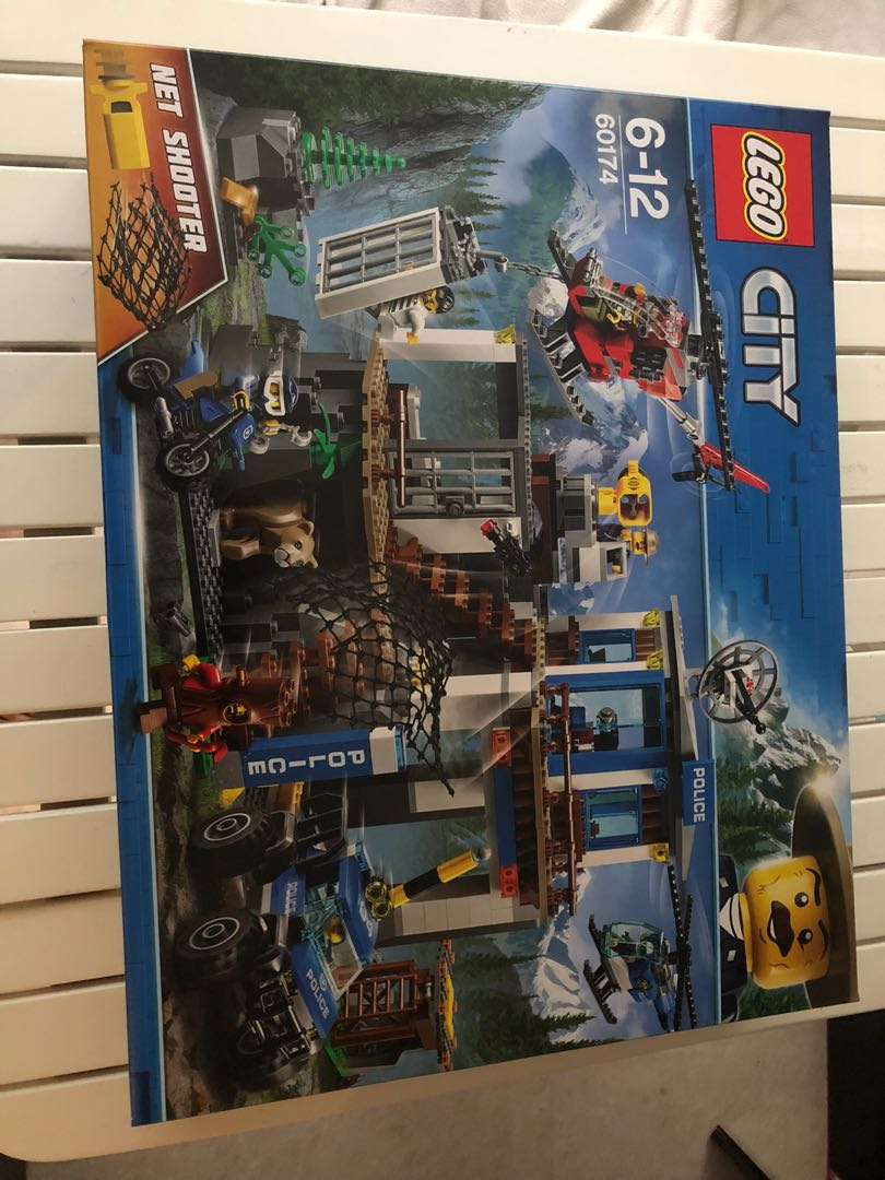 Lego City Police Mountain Police Headquarters 60174 Toys Games