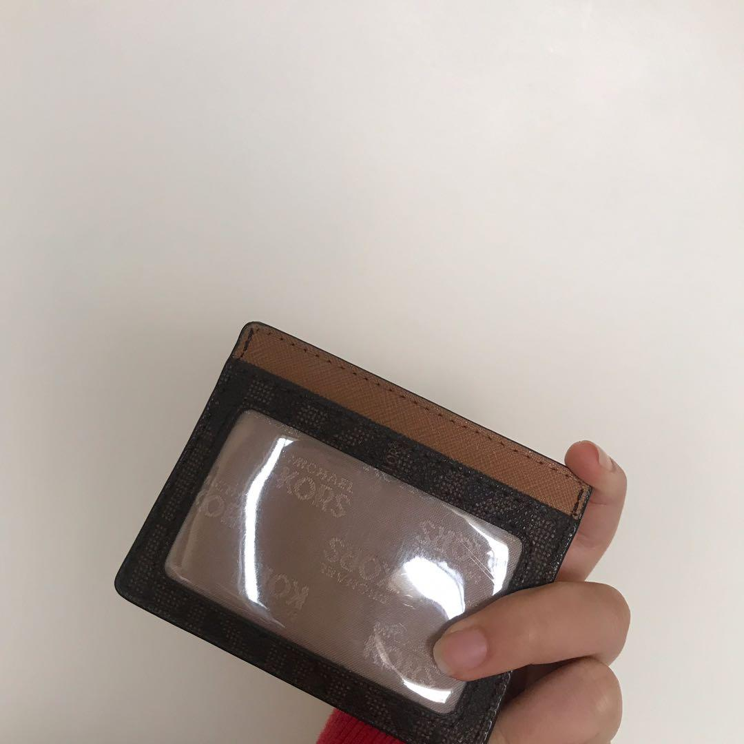 LIMITED EDITION Michael Kors Jet Set Travel PVC Card Holder