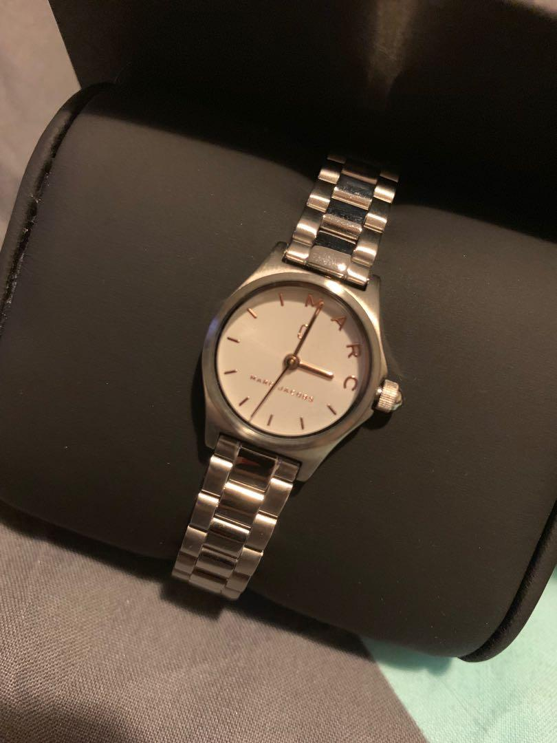 Marc Jacobs Henry Stainless Steel Watch
