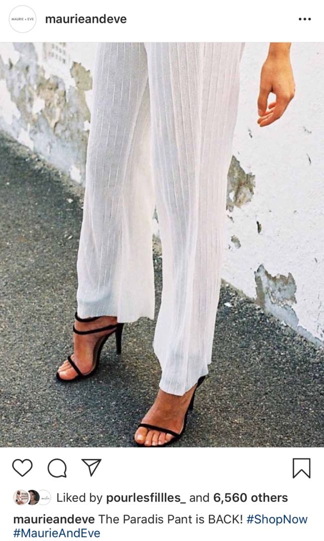 Maurie and eve paradis pants