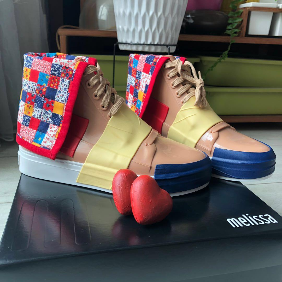 Melissa Shoes Crew High Top Sneakers