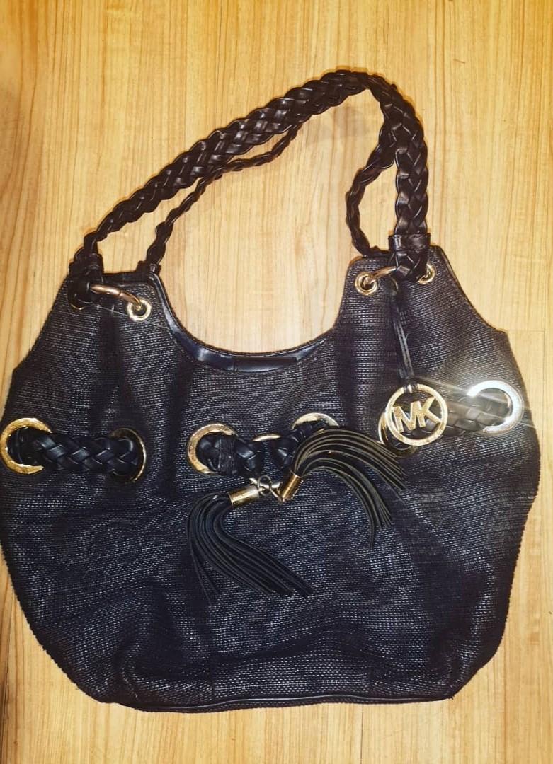 Micheal kors womens black handbag