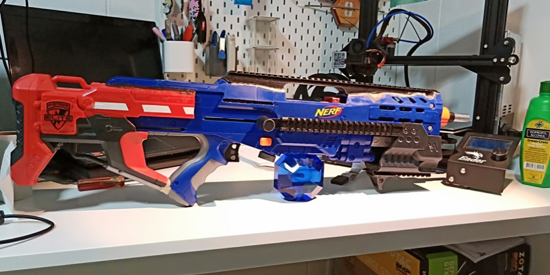 Nerf longshot, Toys & Games, Others on Carousell