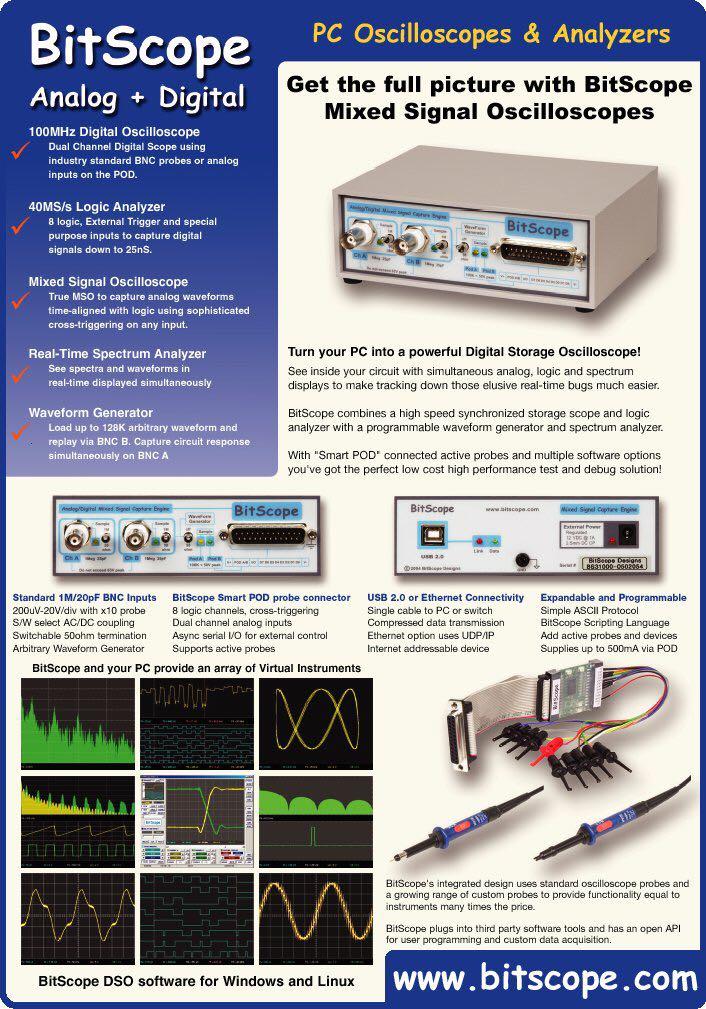 PC SCOPE - Bitscope 310