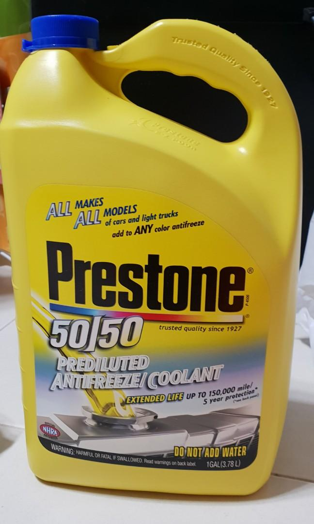 Prestone 50/50 Prediluted Extended Life Coolant 150,000miles