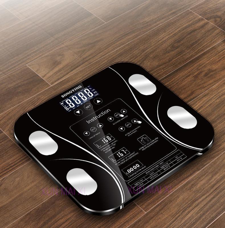 Smart Bathroom Scales. Record 11 Individual Profiles