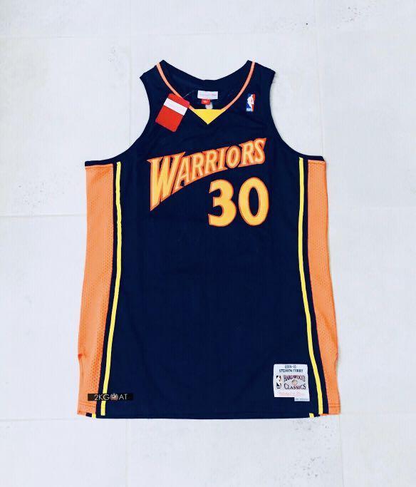 best service e73d2 abc5f Steph Curry RETRO ROOKIE NBA Basketball Jersey, Men's ...