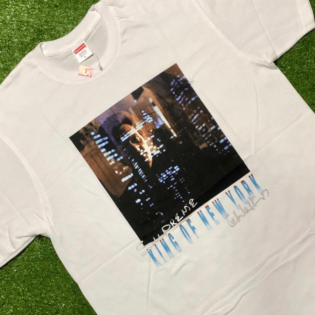 61703b277e55 Supreme King Of New York Tee, Men's Fashion, Clothes, Tops on Carousell