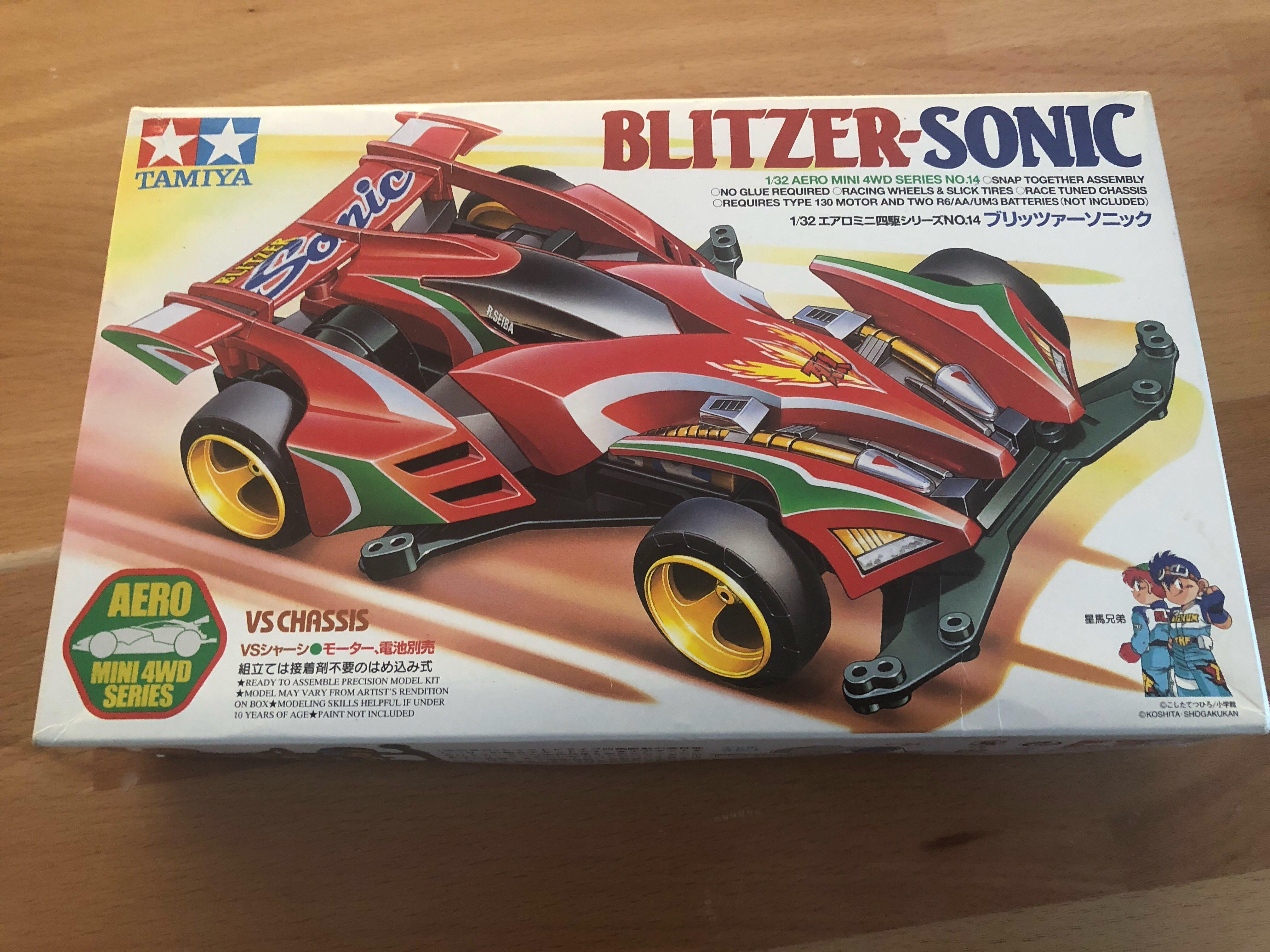 Tamiya Blitzer-Sonic 1/32 Aero Mini 4WD series no.14