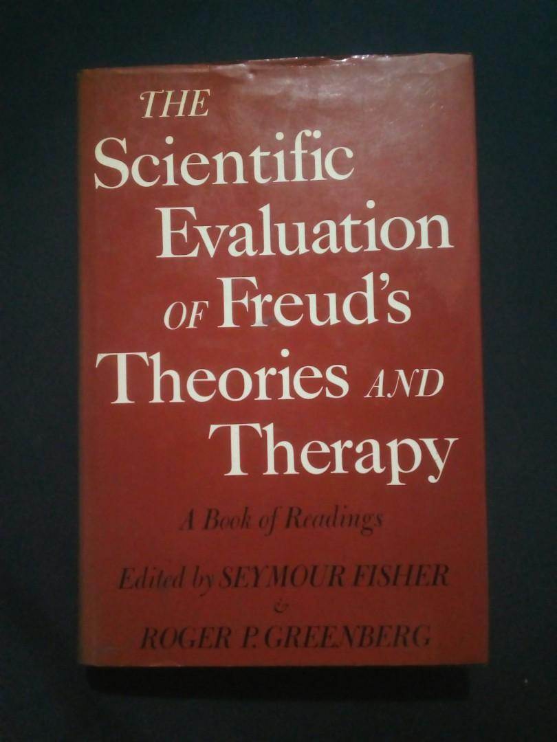 The Scientific Evaluation of Freud's Theories and Therapy   Hardcover