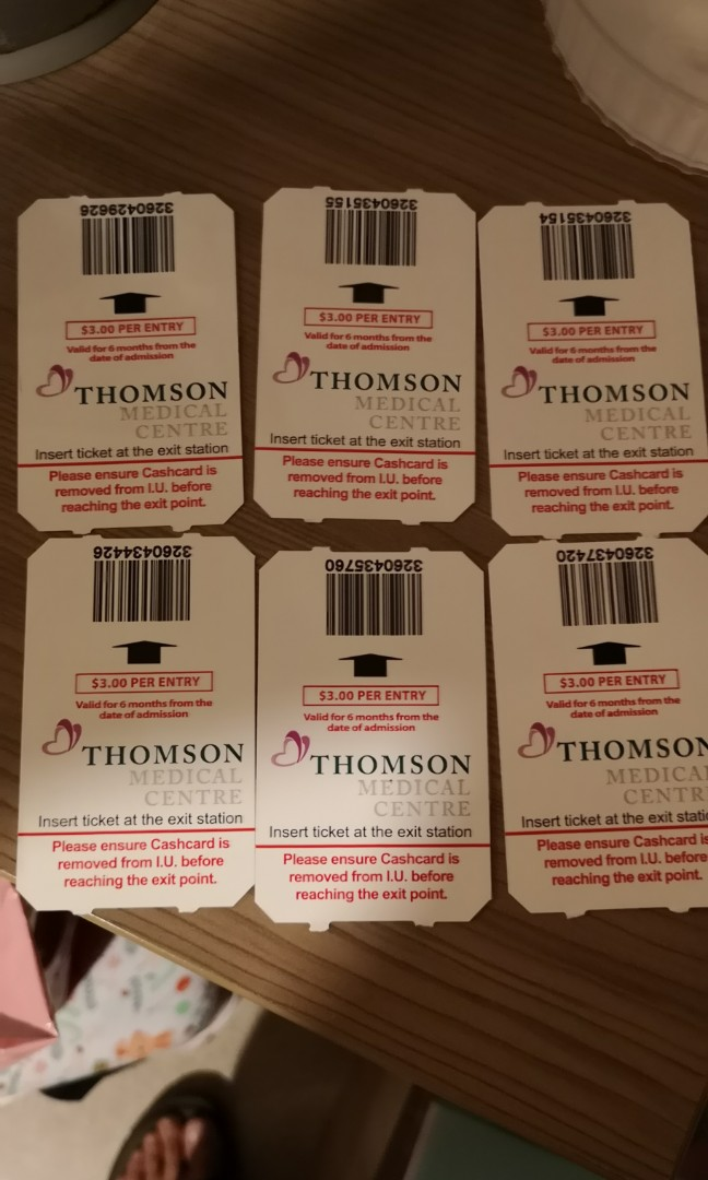 Thomson medical parking coupon extra