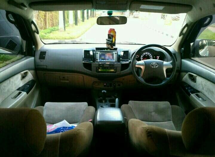 Toyota Fortuner 2.5G VNTurbo 2013AT Putih Metalic..TOP Condition