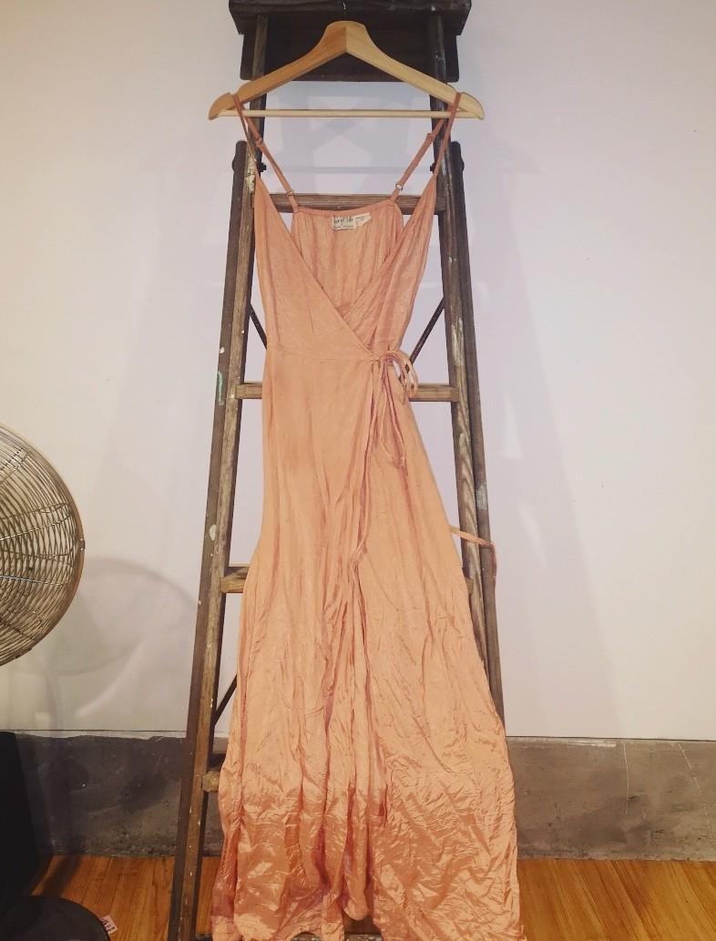 Tree of life wrap maxi dress. Size 8/10