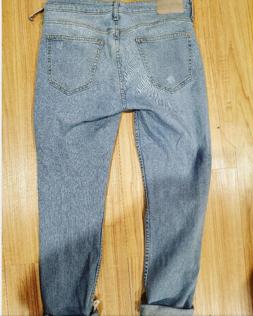 Zara low rise denim jeans. Size 10