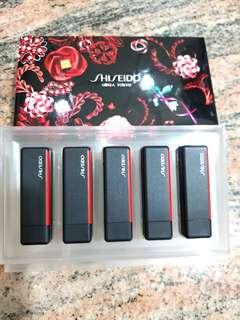 Shiseido x Ribbonesia Limited Edition Modern Matte Powder Lipstick Expressive Deluxe Mini Set